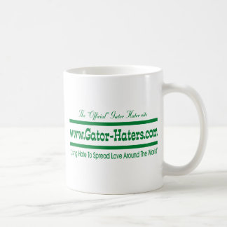 Green Gator Hater Banner Mug