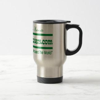 Green Gator Hater Banner Stainless Steel Travel Mug