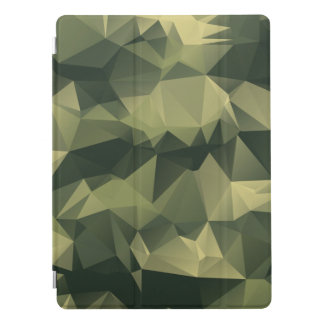 Green Geometric Camouflage. Camo your iPad Pro Cover