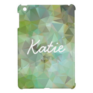 Green Geometric Case For The iPad Mini