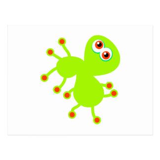 Green Germ Postcard