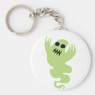 Green Ghost Key Ring