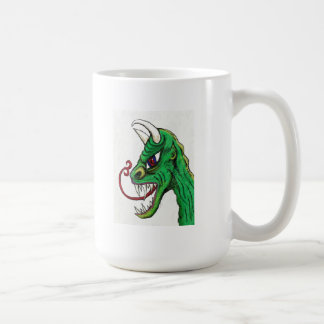 Green Ghoul Basic White Mug