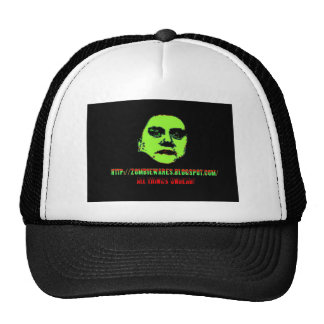Green Ghoul -ZOMBIEWARES Blogspot Com Mesh Hat