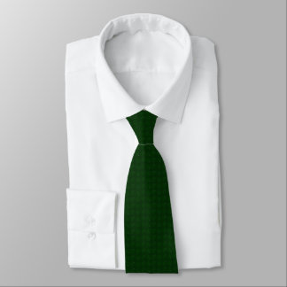 Green Gingham Christmas Tie