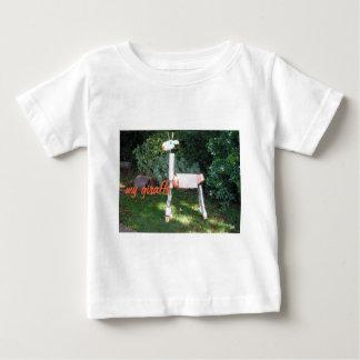 Green Giraffe Baby T-Shirt
