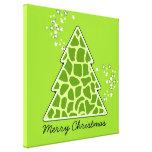 Green giraffe Christmas Tree