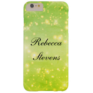Green Glamour Barely There iPhone 6 Plus Case