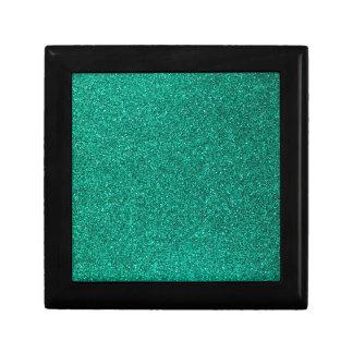 Green Glitter Gift Box