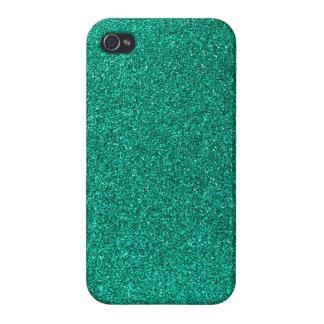 Green Glitter iPhone 4 Cover