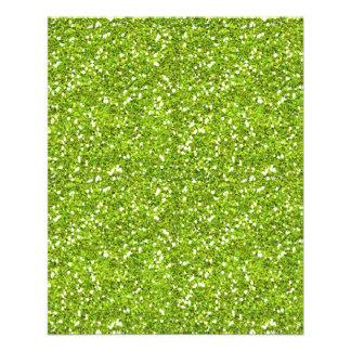 GREEN GLITTER-LIKE TEXTURE BACKGROUND WALLPAPER TE FLYER DESIGN