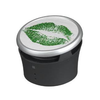 Green Glitter Lips #2 Speaker