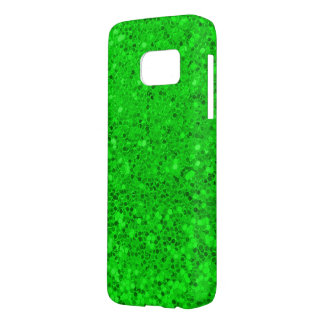 green glitter macro