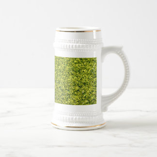 GREEN GLITTER PRODUCTS for HOLIDAYS or Any Day! Beer Steins