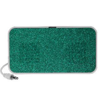 Green Glitter Travel Speaker
