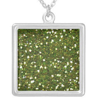 Green Glitters Necklace