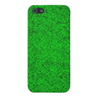 Green glittery grass case for iPhone 5/5S