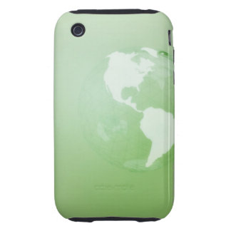 Green Globe iPhone 3 Tough Covers