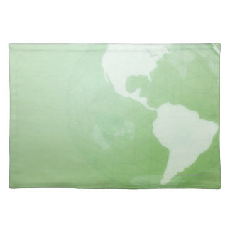 Green Globe Placemat