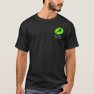 Green Glow Fitness Logo T-Shirt