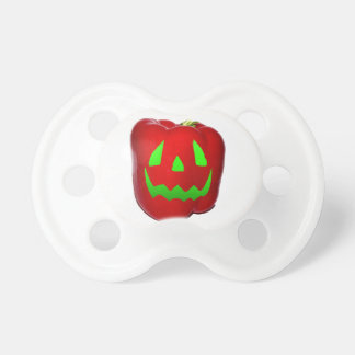 Green Glow Red Bell Peppolantern Baby Pacifiers