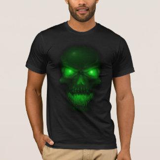 Green Glowing Skull T-Shirt