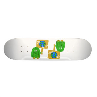 Green go green planet skateboard decks