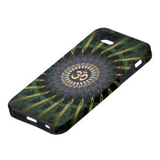 Green Gold Aum Swirl New Age iPhone 5 Case-Mate