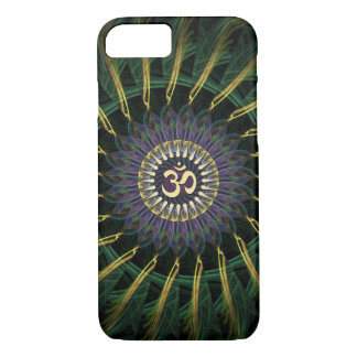 Green Gold Aum Swirl New Age iPhone 7 Case