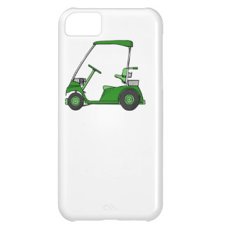 Green Golf Cart Cover For iPhone 5C