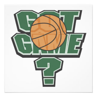 Green Got Game T-shirts and Gifts Announcements