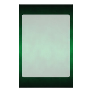 Green Gothic Ombre Background Art Stationery Design