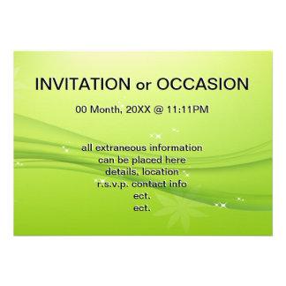 green grace custom invitations