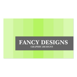Green Gradient Pack Of Standard Business Cards