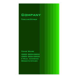 Green Gradient Double-Sided Standard Business Cards (Pack Of 100)