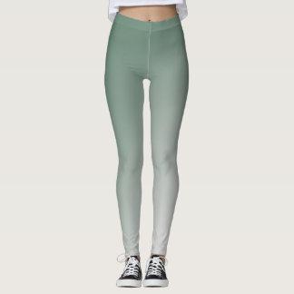 Green Gradient Leggings
