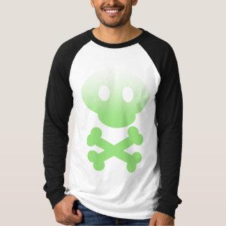 Green Gradient Skull Shirt