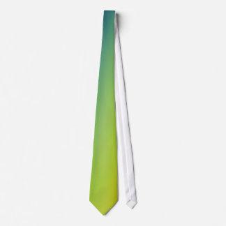 green gradient tie