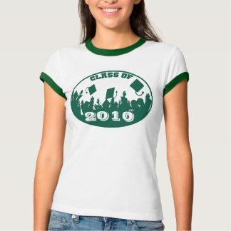 Green Graduation Class of 2009 2010 T-shirt