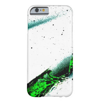 Green Graffiti Sky Barely There iPhone 6 Case