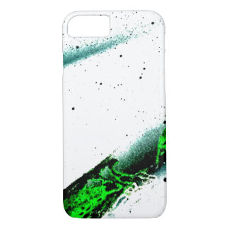 Green Graffiti Sky iPhone 7 Case