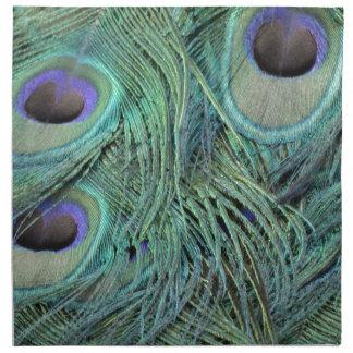Green Grain Peacock Eyes Napkin