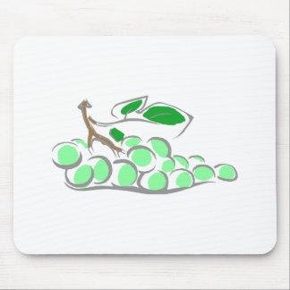 Green Grapes Bunch Mousepads