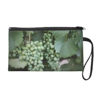 Green Grapes Growing Wristlet Purse