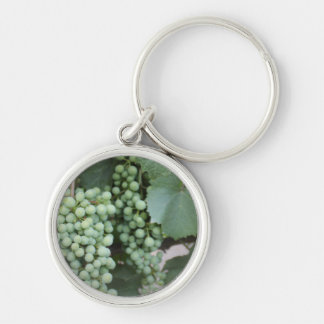 Green Grapes Growing Key Chains