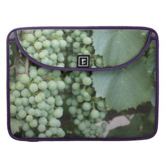 Green Grapes Growing MacBook Pro Sleeves