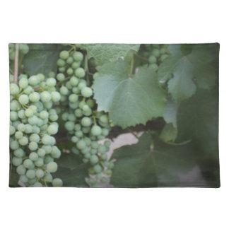 Green Grapes Growing Place Mats
