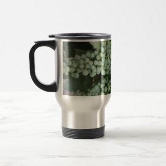 Green Grapes Growing Stainless Steel Travel Mug