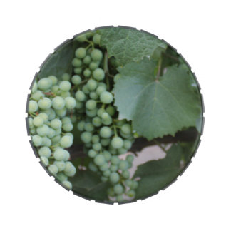 Green Grapes Growing Candy Tin