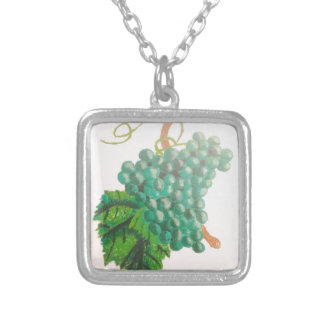 Green grapes necklace